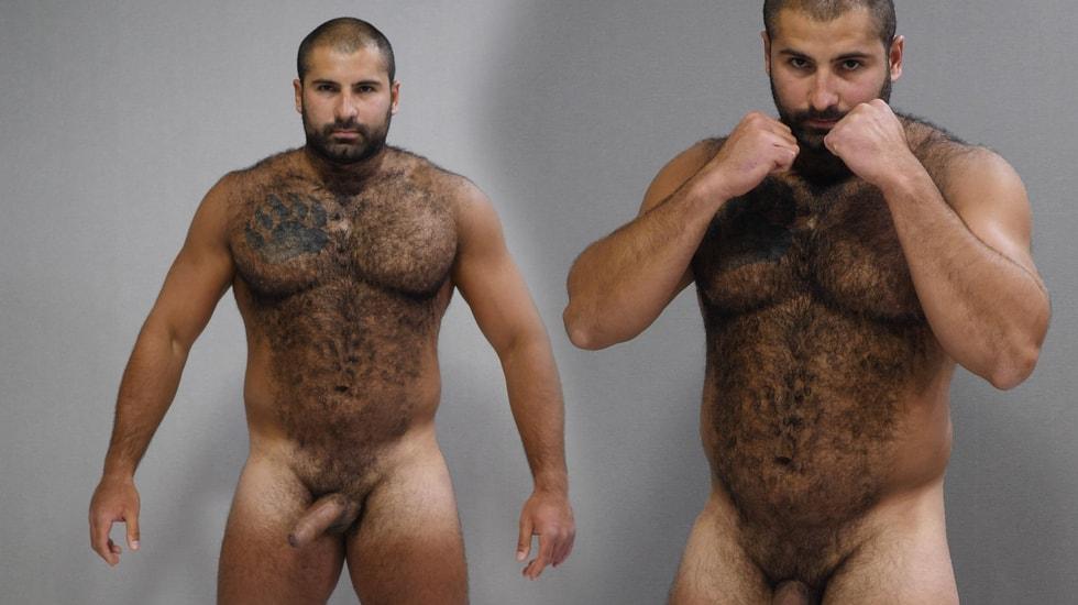 Naked Russian Bear