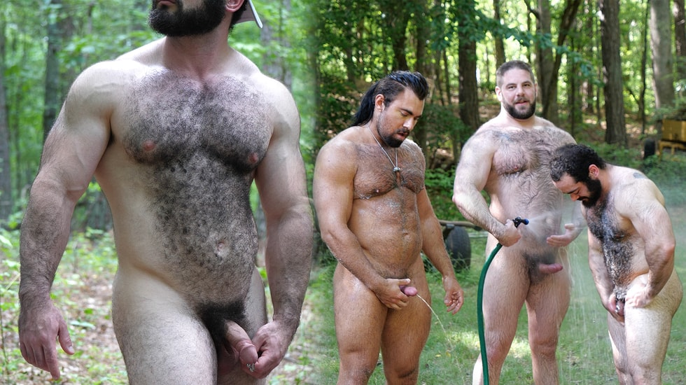 Behind the Scenes Fucking Muscle Bears