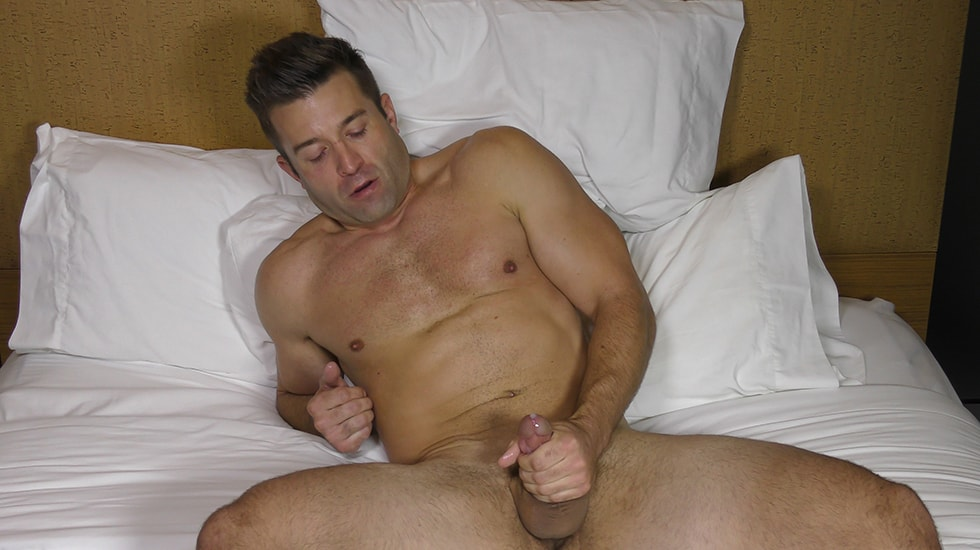 Tight Grip on His Dick