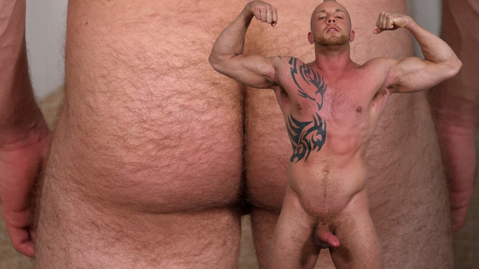 Blond Man with a Hairy Ass